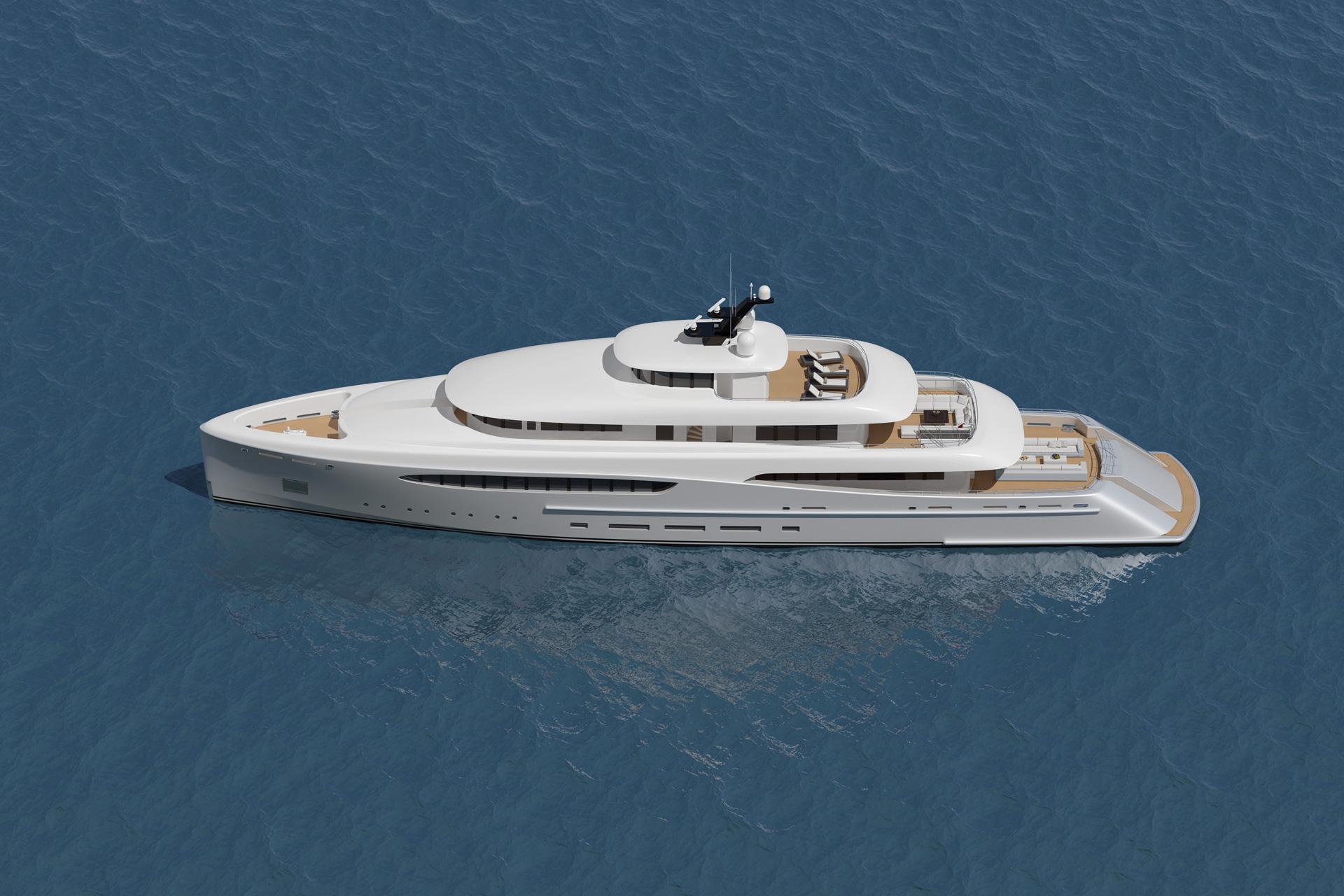 luxury superyacht overture by nick mezas yacht design luxury yacht