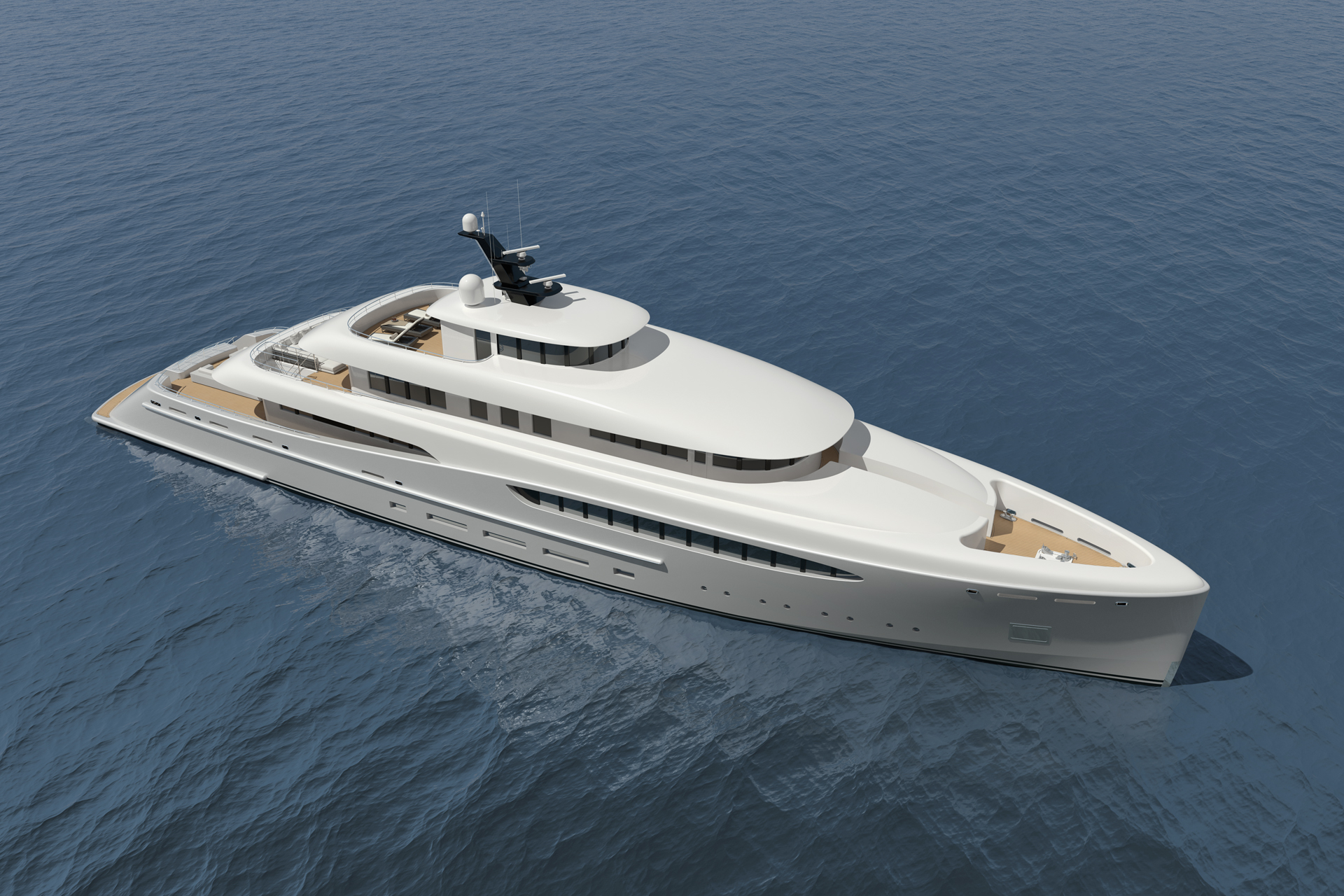 luxury yacht project overture by nick mezas yacht design luxury