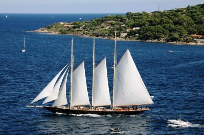 56m luxury charter yacht ATLANTIC hosted by Trophee Bailli de Suffren in past years