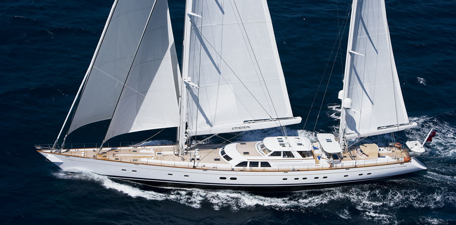 58m Superyacht Ethereal By Royal Huisman And Ron Holland