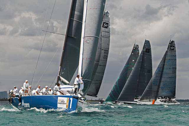 World Championship of 52 Super Series in Miami - Day Two Photo credit: Xaume Olleros/52 Super Series