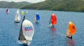 BVI Spring Regatta &amp; Sailing Festival kicks off on Friday 29th March for three days of hot racing in the British Virgin Islands Credit: Todd VanSickle/BVI Spring Regatta