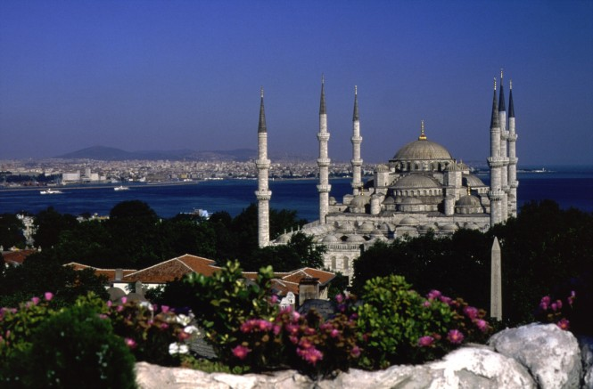 Blue Mosque - courtesy of Turkish Tourist Office