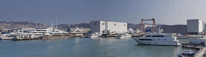 CRN Shipyard in Ancona, Italy