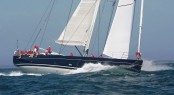 Dykstra designed Yacht HANUMAN - Photo Credit George Bekris