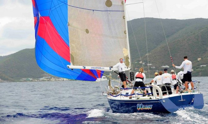 Richard Wesslund's J120, El Ocaso will be back to race this year - Credit: Todd van Sickle