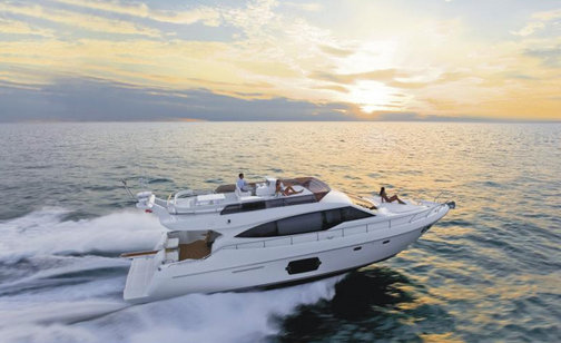 Ferretti 530 Yacht to make her Russian premiere at Moscow Boat Show