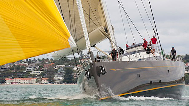 Fitzroy superyacht Ohana at NZ Millennium Cup
