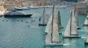 Grand Harbour Marina situated in the beautiful Mediterranean yacht charter location - Malta