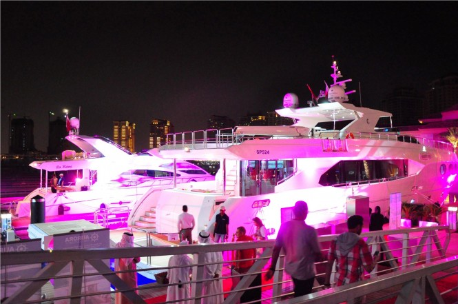 Gulf Craft's 'Majesty Yachts exclusive Preview' Event taking place in the beautiful Middle Eastern yacht charter location - Doha in Qatar