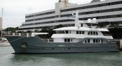 Inace superyacht Far Far Away - sistership to explorer yacht Batai (hull 591)