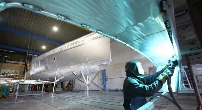 K&M Yachtbuilders - Shipyard