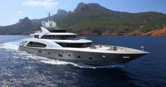 La Pellegrina superyacht - a sister ship to Couach 5002 Fly Yacht