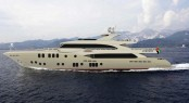 Latest Majesty 155 superyacht presented by Gulf Craft at Dubai Boat Show 2013