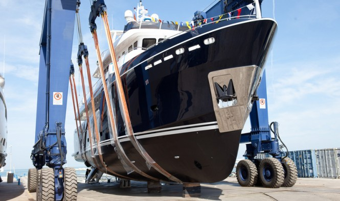 Launch of the Darwin Class 96 Yacht STELLA DI MARE by CdM Yachts
