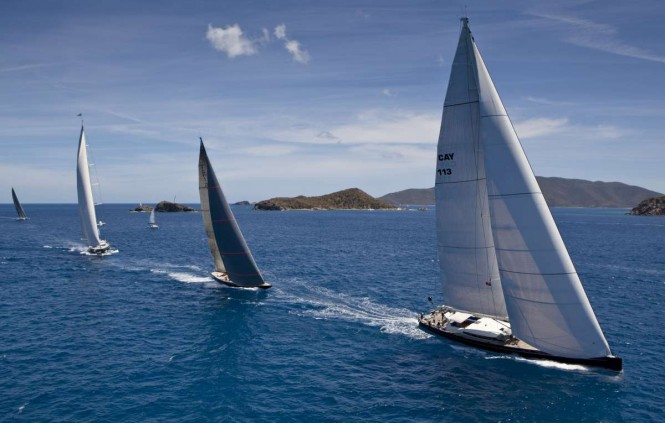 Loro Piana Caribbean Superyacht Regatta &amp; Rendezvous 2012. Photo Jeff Brown/SYM