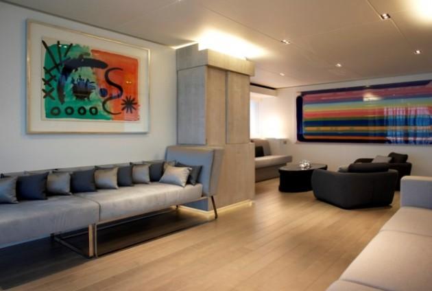 Luxury Yacht Jems - Salon
