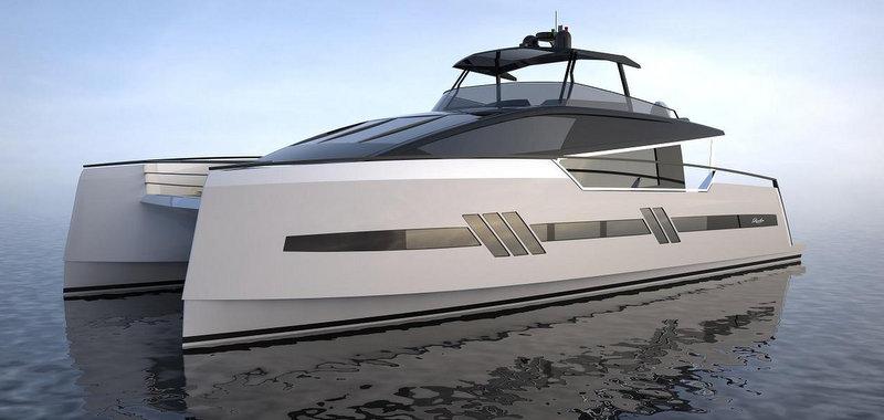 Luxury Catamaran Yacht Euphoria Concept By Privilege