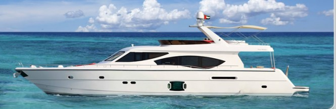 Luxury motor yacht Duretti 85 by Dubai Marine