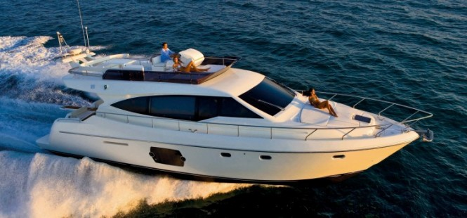 Luxury motor yacht Ferretti 530