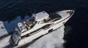 Luxury motor yacht Ferretti 870 by Ferretti Yachts - Ferretti Group's new model for 2012/13