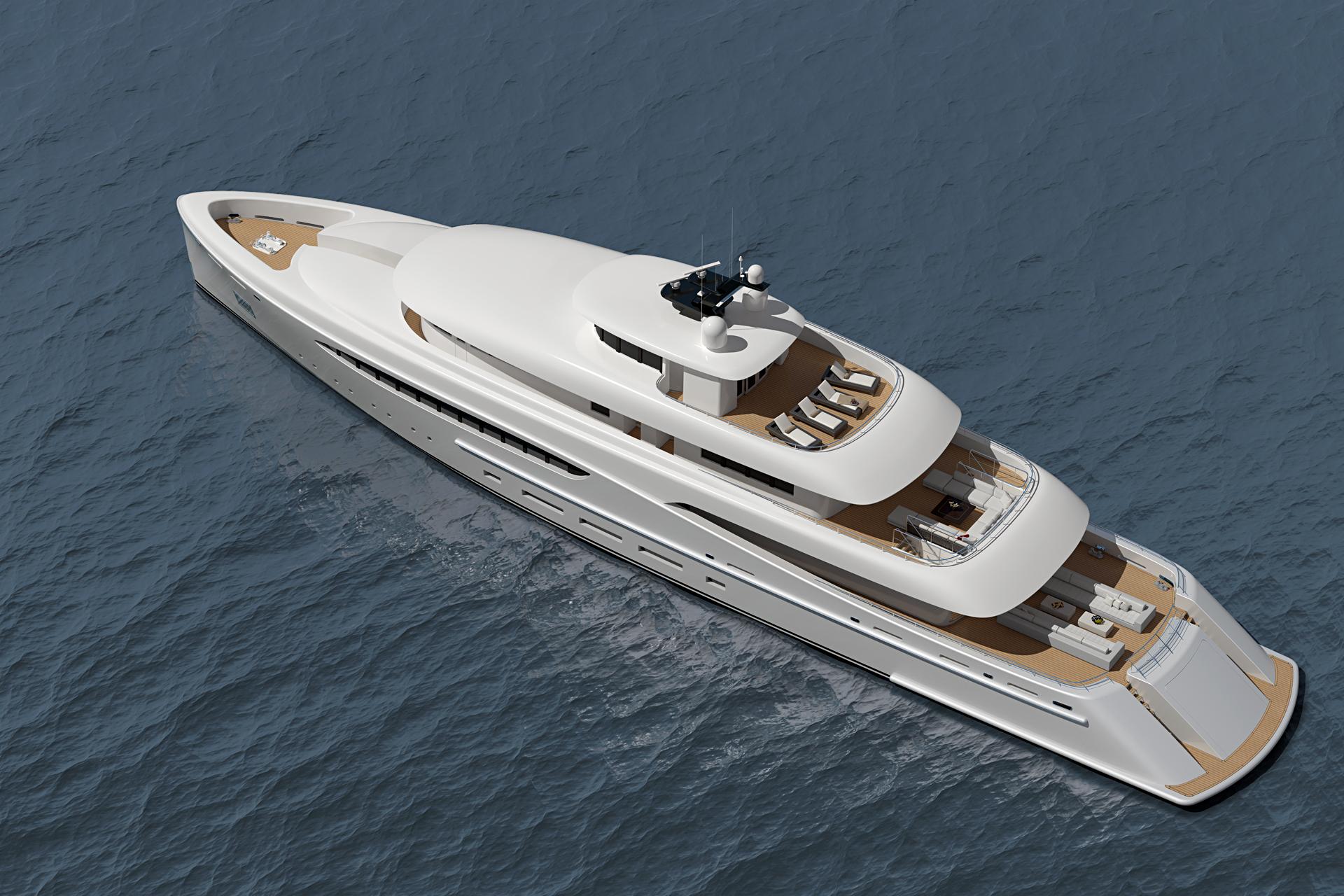 luxury motor yacht project by nick mezas yacht design luxury yacht