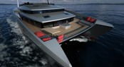 Luxury power catamaran yacht Panama 62' concept © Absolute 2001 Alu Marine