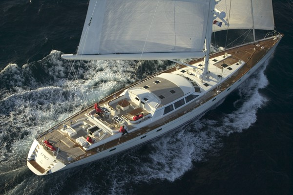 Luxury sailing yacht CANICA to be exhibited at the Inaugural Palma Brokerage &amp; Charter Show - Photo credit Baltic Yachts
