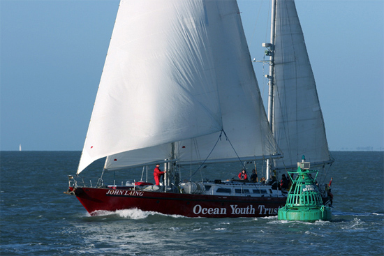Luxury sailing yacht John Laing operated by OYT South