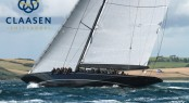 Luxury sailing yacht Lionheart by Claasen Shipyards - Photo by Ingrid Abery