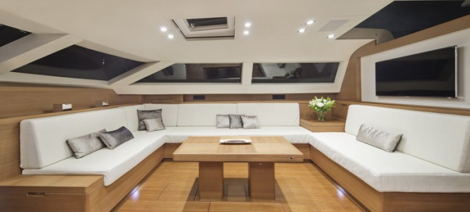 Luxury yacht Almagores II - Interior