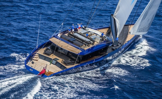 Luxury yacht Better Place by Wally and Tripp Design - Photo by Rolex/Carlo Borlenghi