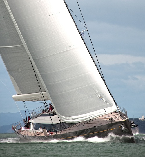 Luxury yacht Ohana under sail - Photo credit: Luke Sprague/Superyacht Images