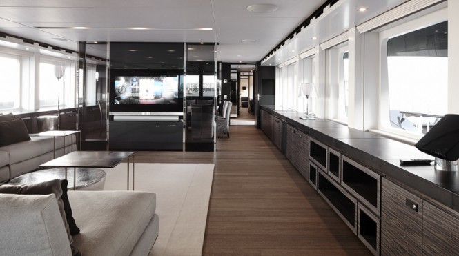Luxury yacht Ventura - Interior