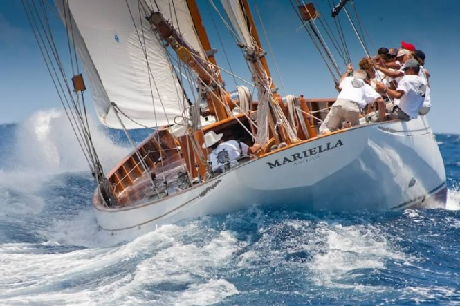Ready for the Challenge: Carlo Falcone's 1938 yawl, Mariella: Alfred Mylne-designed and Fife built classic Credit: Christophe Jouany