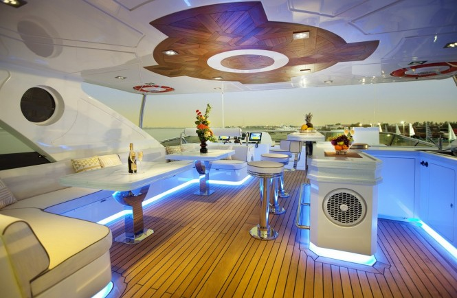 Marina Wonder superyacht - Fly Deck