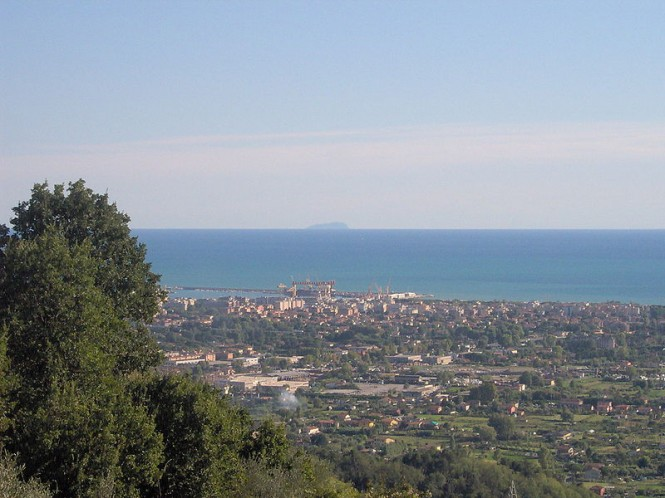 Marina di Carrara situated in the popular summer yacht charter destination - Italy