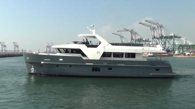 Monte Fino ecHo 85 superyacht
