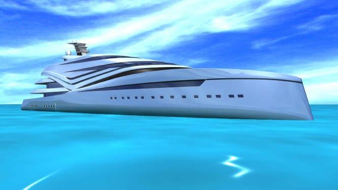 Motor Yacht V120 design concept by IPYD design studio
