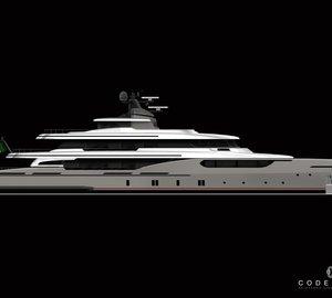New 50m motor yacht Project Codecasa 50 by Codecasa Shipyards