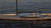 New 60m OPEN Sailing Yacht Concept by Van Geest Design