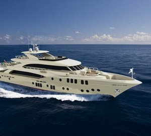 Motor yacht Majesty 155 – Largest Ever Yacht Project by Gulf Craft presented at Dubai Boat Show