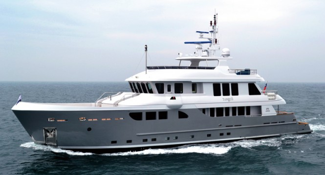 Newly launched Horizon EP115 expedition yacht Tango 5