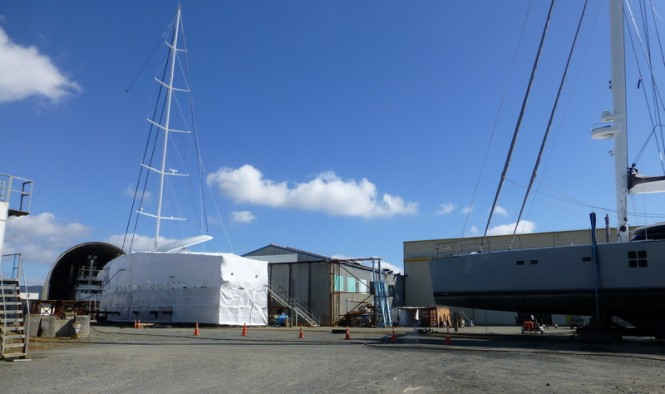Oceania Marine Shipyard - Port Whangeri - Three Superyacht Refit Projects in a Row