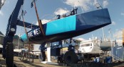 Re-launch of the newly refitted TP52 5 WEST Yacht at Endeavour Quay