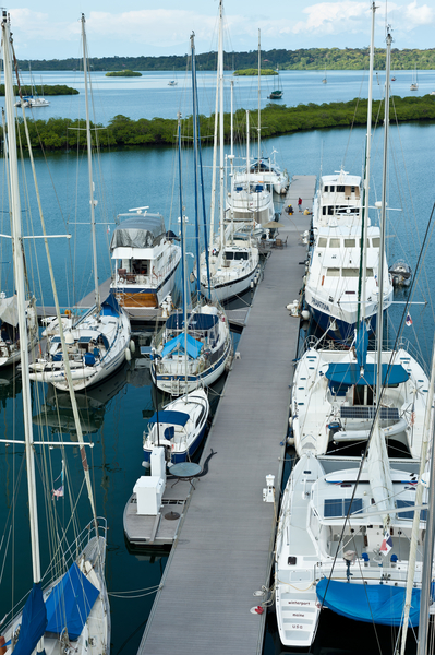 Red Frog Marina situated in a fabulous yacht charter location - Panama