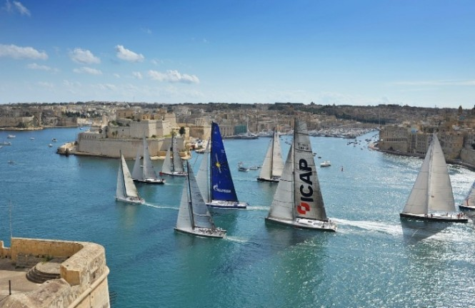 Rolex Middle Sea Race with historic Malta as the backdrop