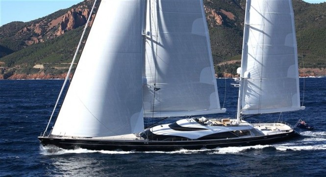 Royal Huisman Yacht Twizzle to be displayed at Singapore Yacht Show 2013