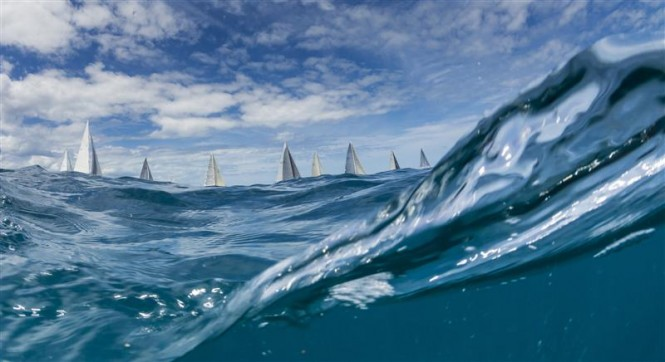 Start of racing for Classes A&B, Day 4 - Photo by Rolex Carlo Borlenghi