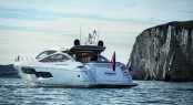 Sunseeker Predator 80 Yacht displayed at Miami Boat Show 2013